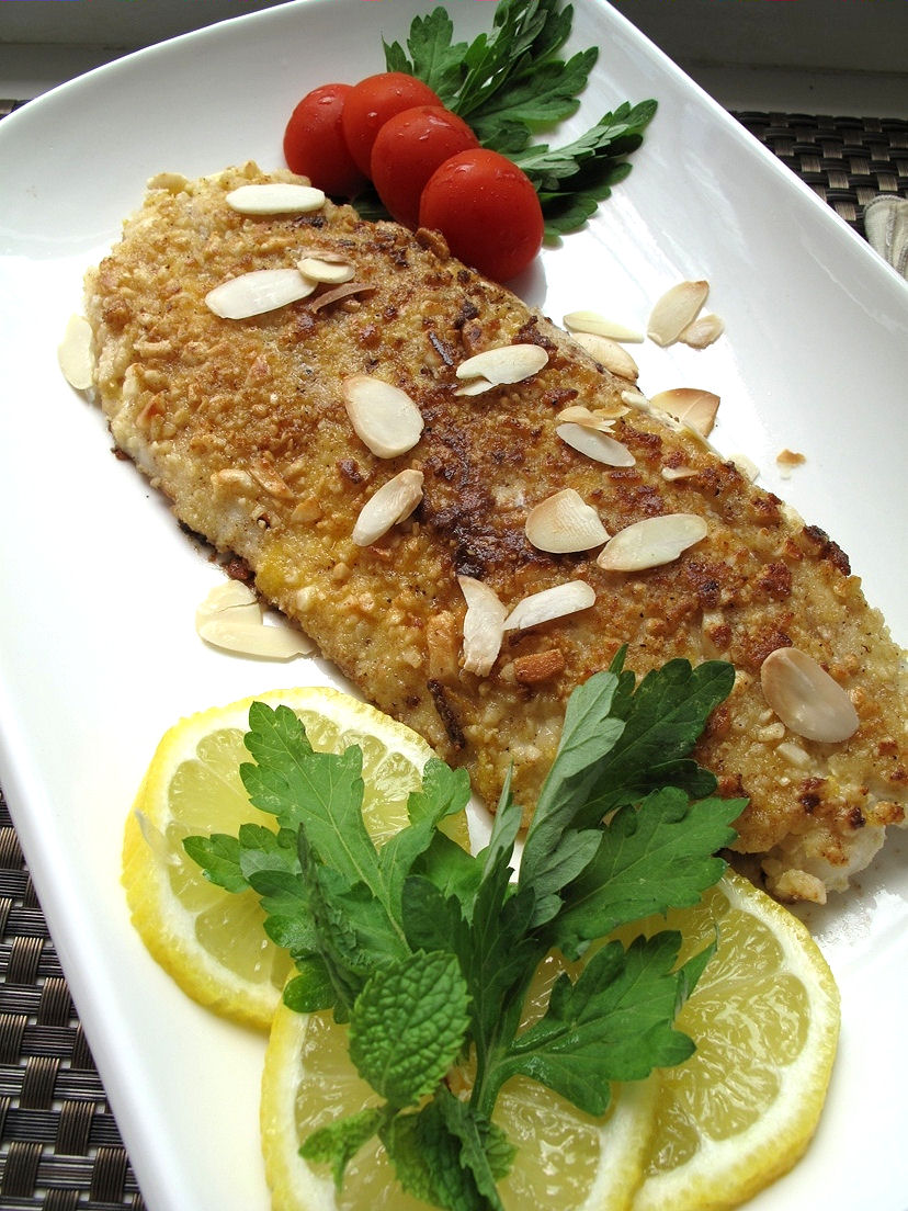 flounder with tomatoes broiled flounder with parmesan caesar glaze ...