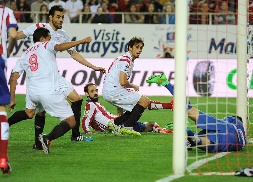Crónica Sevilla FC 0 Vs Atlético de Madrid 0