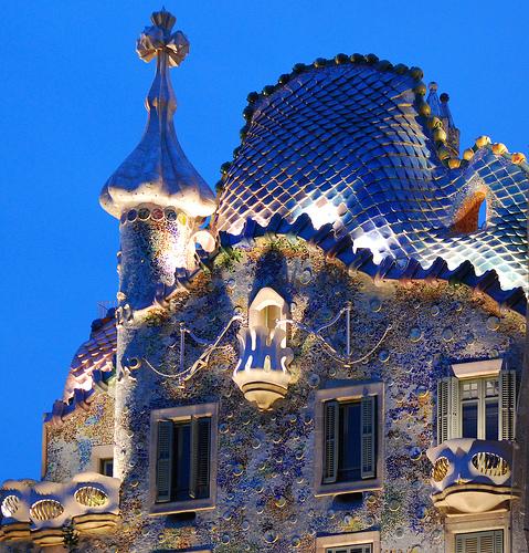 Gaud y m s por ana m ferrin contra antonio gaud - Art nouveau architecture de barcelone revisitee ...