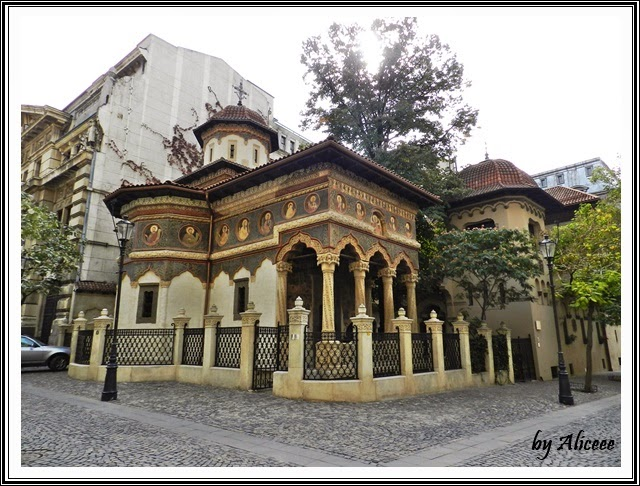Biserica Stavropoleos-bucuresti