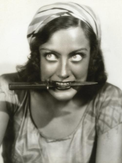 vintage portrait actrice