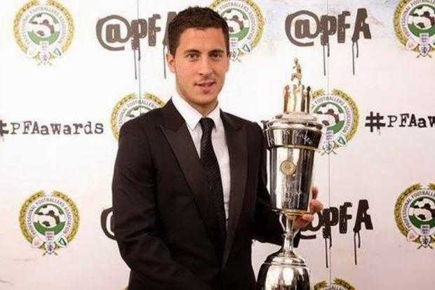 Eden Hazard Dipilih Sebagai Pemain Terbaik PFA, info, terkini, sukan, bola sepak, eden hazard, chelsea