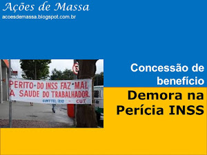 Demora perícia do INSS