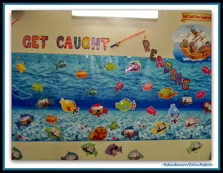 Ocean Bulletin Board for Reading {Ocean RoundUP at RainbowsWithinReach}