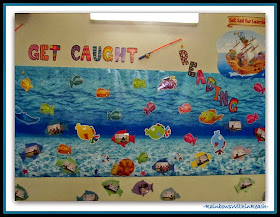 Ocean Bulletin Board for Reading {Back to School RoundUP at RainbowsWithinReach}