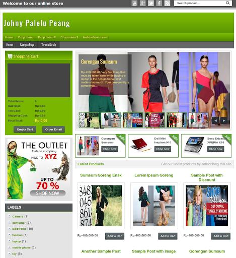 Cara Mudah Membuat Toko Online Shop Di Blogspot