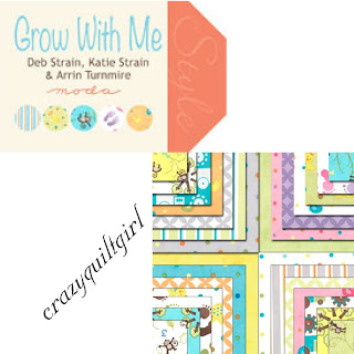 Moda GROW WITH ME Quilt Fabric by Deb Strain, Katie Strain, Arrin Turnmire