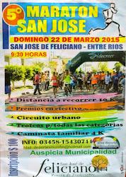 5º MARATON SAN JOSE ( FELICIANO ENTRE RIOS)