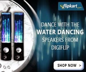 DigiFlip PS049 Water Dancing Speaker for Rs.1899 Only @ Flipkart