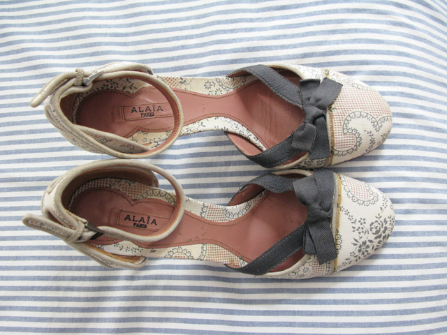 Alaia Shoes On Sale alaia shoes sold