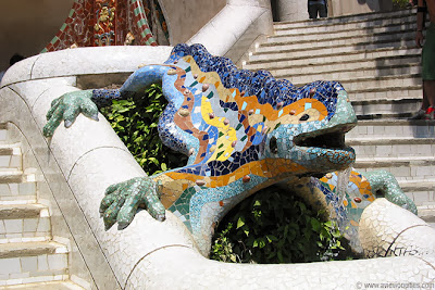 Parc Güell 'Dragon'