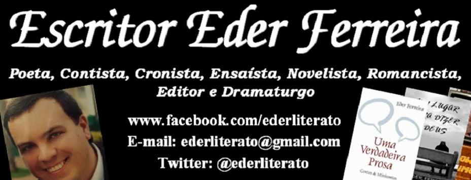 Escritor Eder Ferreira