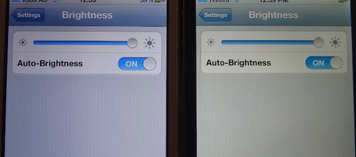 iPhone Auto Brightness