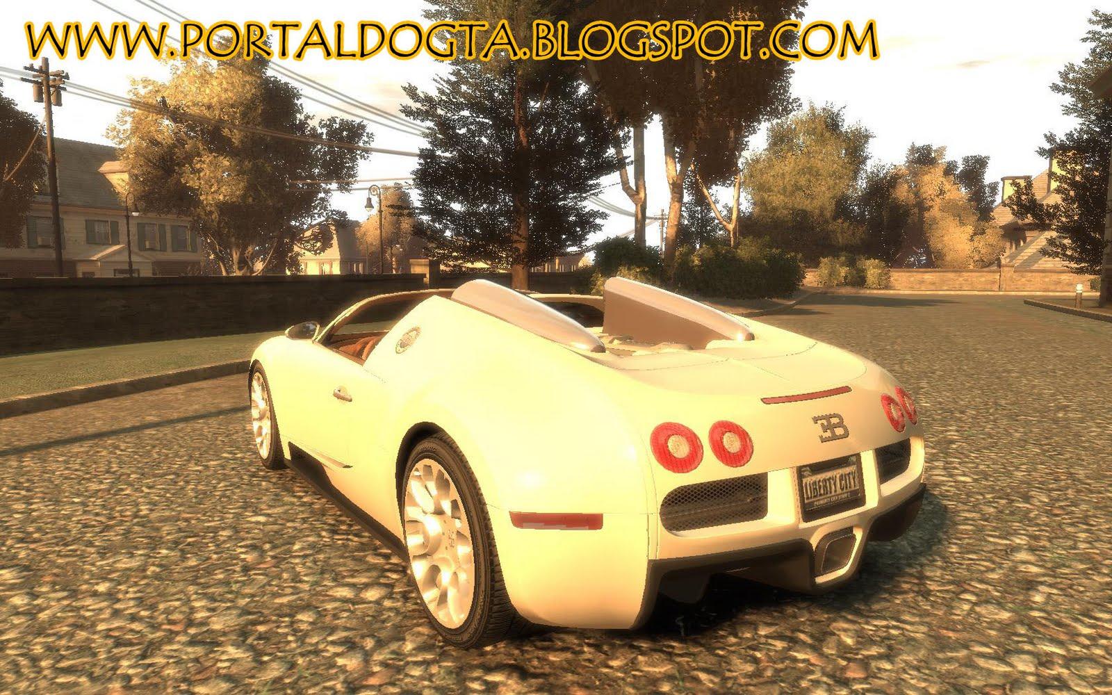 iv bugatti veyron grand sport epm 2009 portal do gta. Black Bedroom Furniture Sets. Home Design Ideas