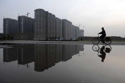 Taiyuan: seres humanos são raridade. Bolha pode explodir.