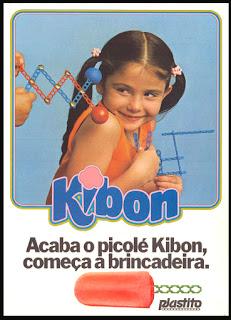 propaganda picolé Kibon - 1971, os anos 70; propaganda na década de 70; Brazil in the 70s, história anos 70; Oswaldo Hernandez;