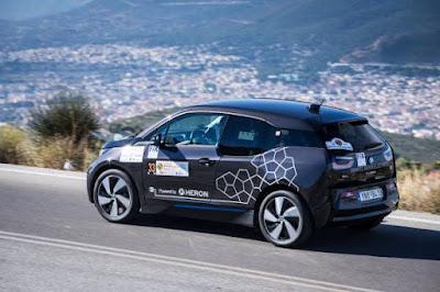 Hi-Tech EKO Mobility Rally 2015: 1η θέση Γενικής Κατάταξης για το BMW i3