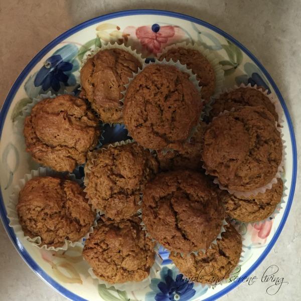 gluten free organic muffins recipe