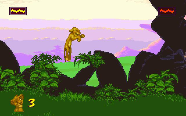 Play Lion King, The online | Play retro games online at ...