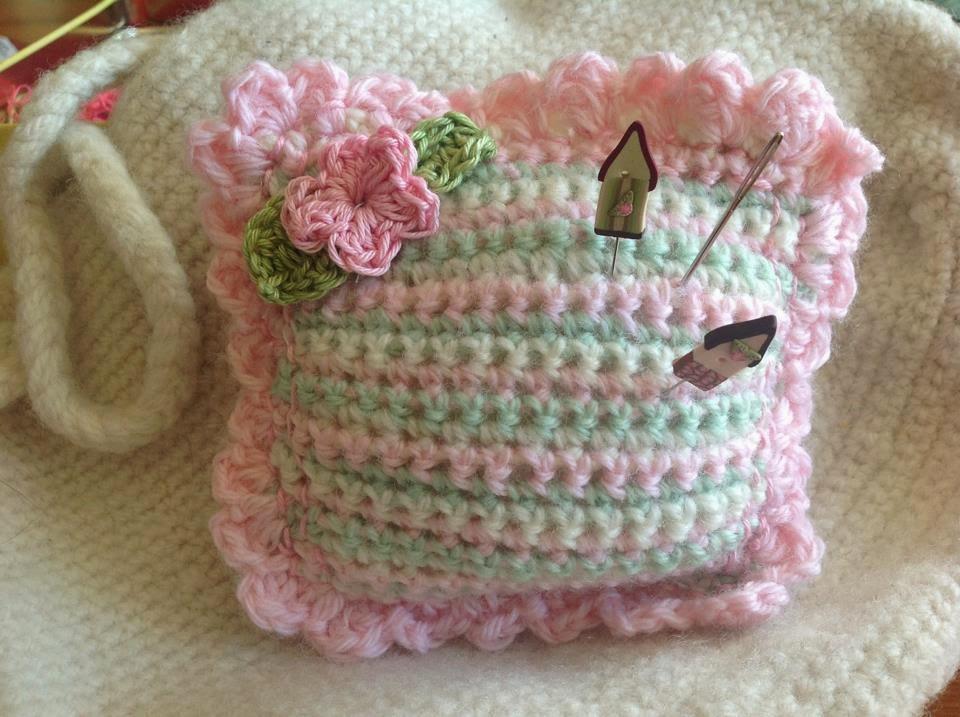 Lydias Treasures Free Pattern Crochet Pincushion