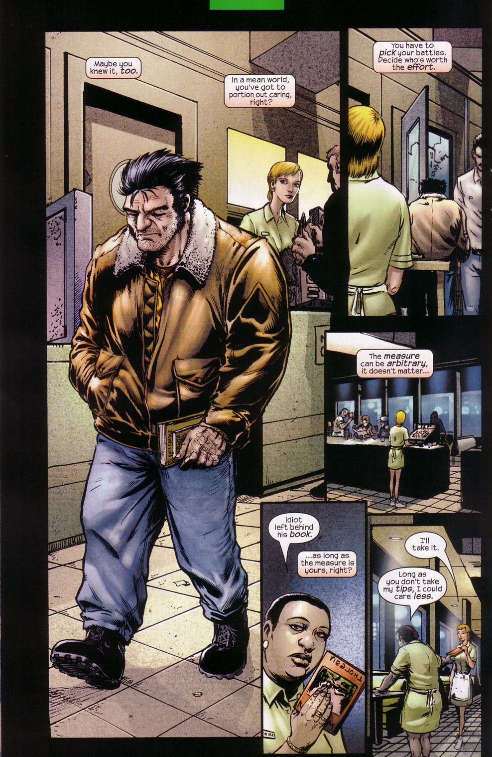 Read online Wolverine (2003) comic -  Issue #1 - 12