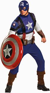 Captain America Movie - Captain America Prestige Adult Costume
