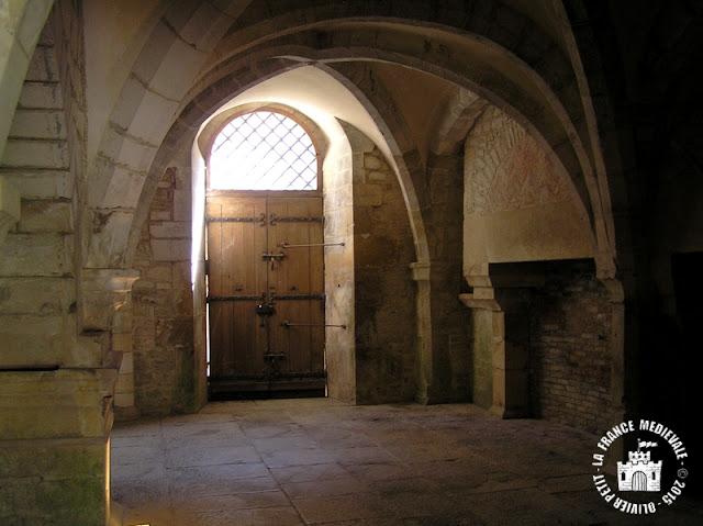 MONTBARD (71) - Abbaye de Fontenay : chauffoir