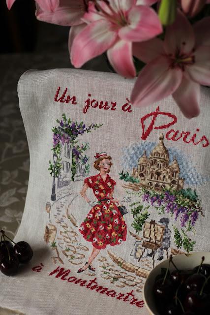 un jour a Paris, парижские вышивальщицы, один день в париже схема