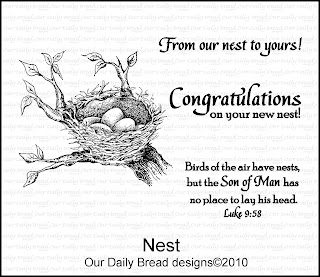 Our Daily Bread Designs, Nest