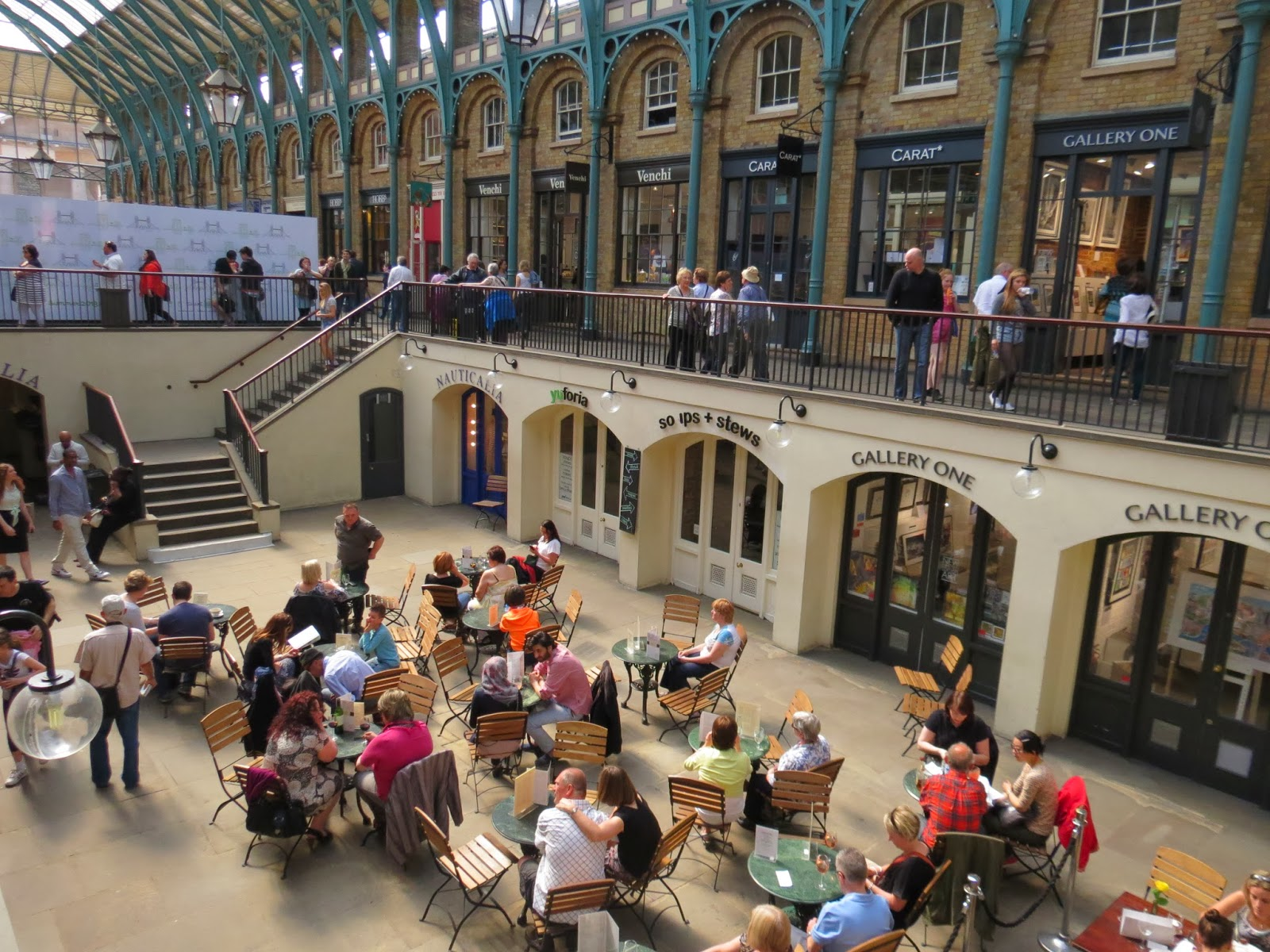 Covent garden al fresco dining