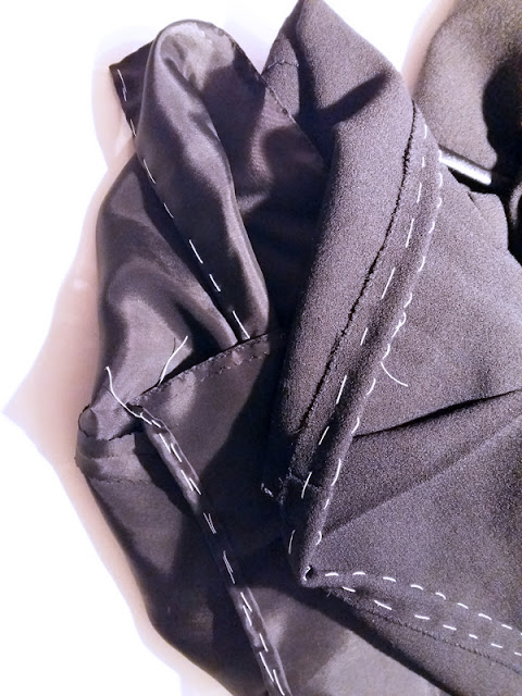The very simple little black dress hems | www.stinap.com
