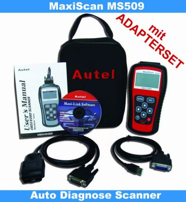 obd2 diagnoseger t test kfz diagnoseger t testbericht autel obd 509 diagnoseger t ink obd i. Black Bedroom Furniture Sets. Home Design Ideas