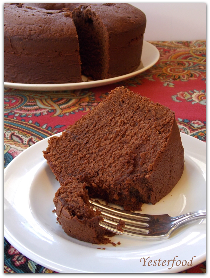 Yesterfood : Mexican Chocolate Buttermilk Poundcake