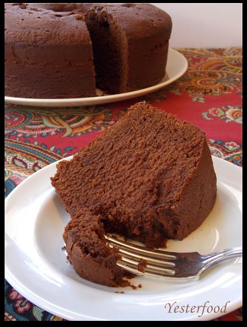 Mexican Chocolate Buttermilk Poundcake