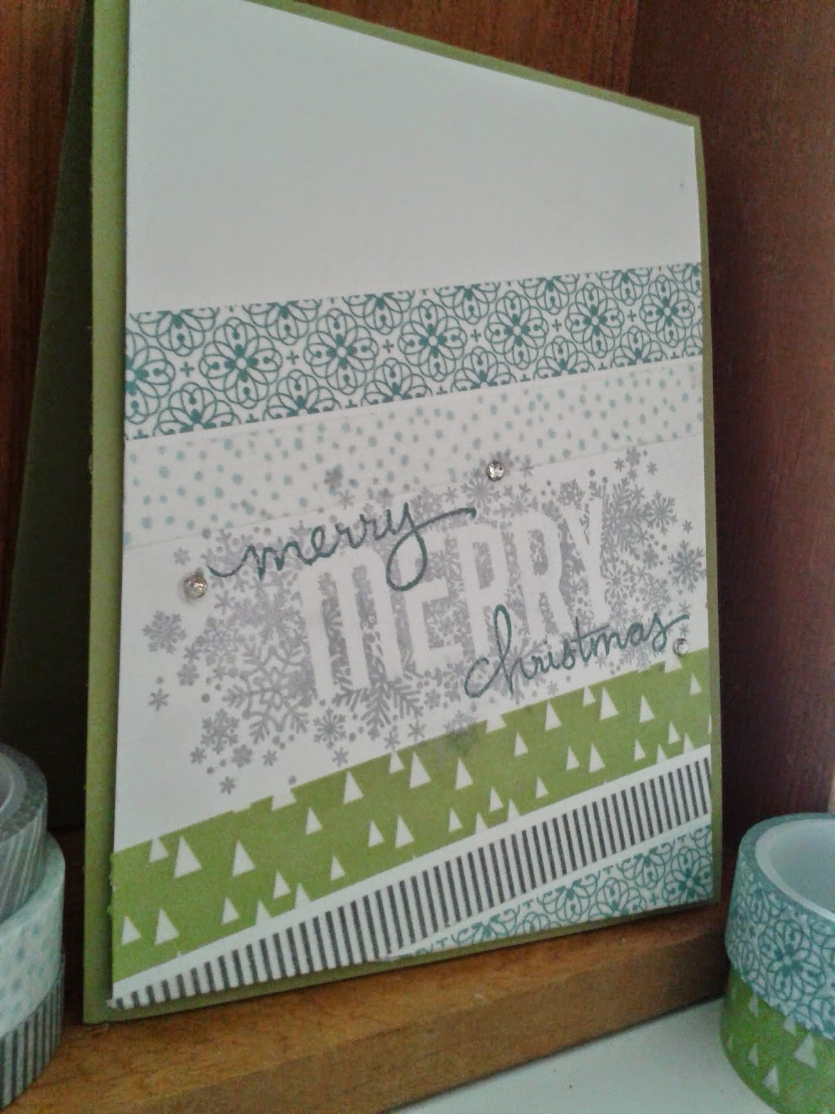 stampin up card christmas
