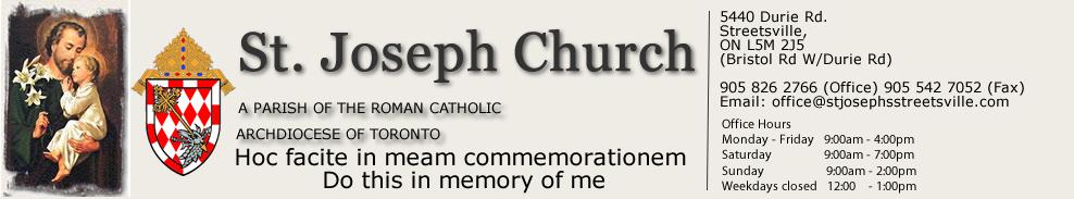 St. Joseph Parish Streetsville