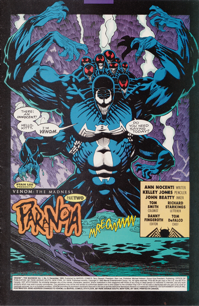 The W Defender: Venom: The Madness