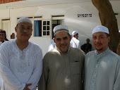 Sayyidi Syeikh Bersama Sayyidi Syeikh Al Habib Jafar  Bin Ali Baharun Dan Ustadz Fakhrul Rozi