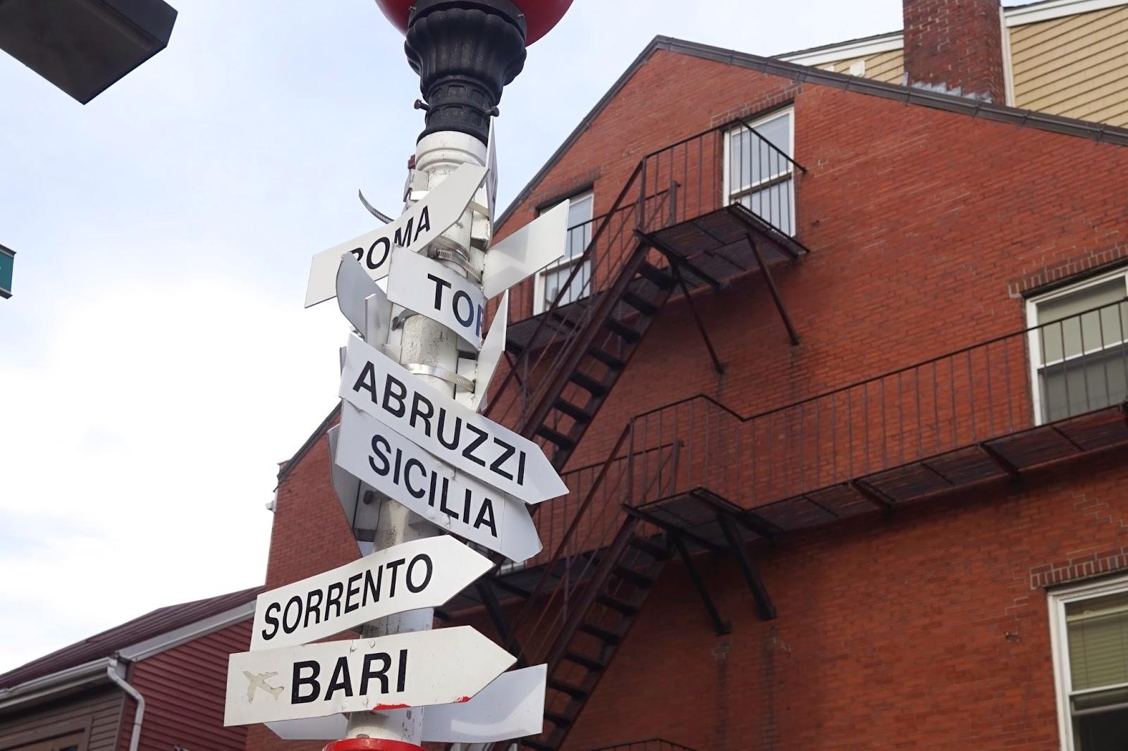 petite italy boston