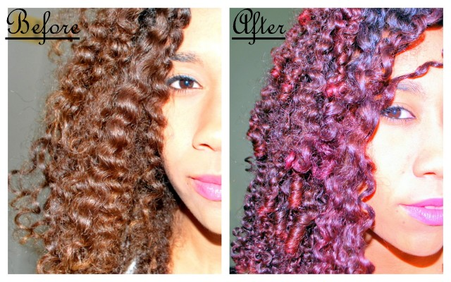Ion fuschia hair color review