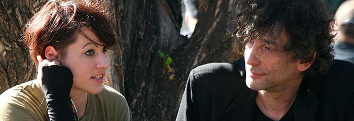 Amanda Palmer und Neil Gaiman zu treffen dürfte ziemlich gut werden. Foto © Tsui