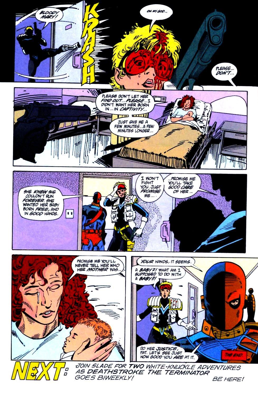 Deathstroke (1991) Issue #21 #26 - English 25