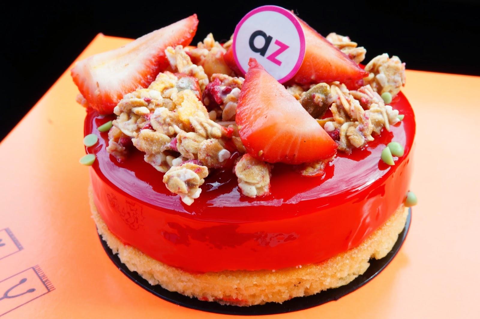Strawberry Cake Recipes From Adriano Zumbo