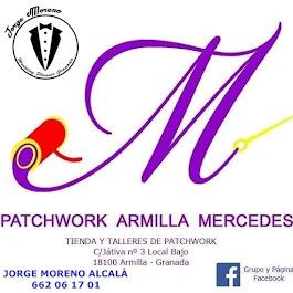 BIENVENIDA/O a: <br>PATCHWORK ARMILLA MERCEDES <br> Tienda y Talleres de Patchwork