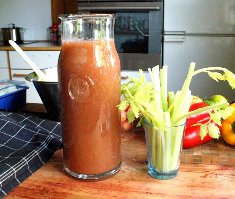 Gazpacho Vegansk Tapas Menyforslag Tapasmeny Vegetartapas Hjemmelaget