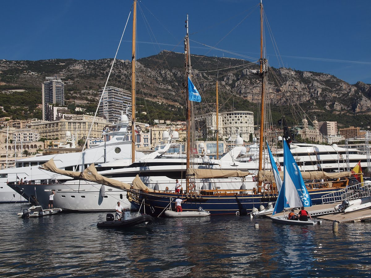 Of course, she's not part of the Monaco Yacht Show and she's not even a ...
