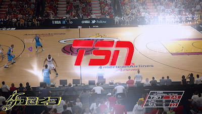 NBA 2K14 TSN Wipe Transition Screen Mod