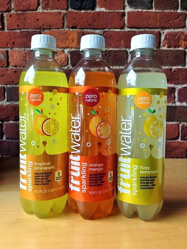 Here are the ingredients for Glaceau's orange mango fruitwater: