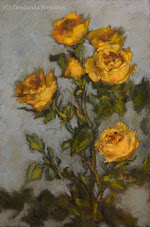 A Journey of Light & Colour! Roses Like the Impressionists Workshop: