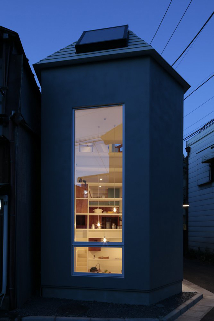 Fika minimal house shop space, japan
